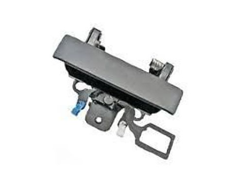 Fits 07*-13 Silverado, Sierra 2014- 2500, 3500 Rear Tailgate Handle w/ keyhole Black