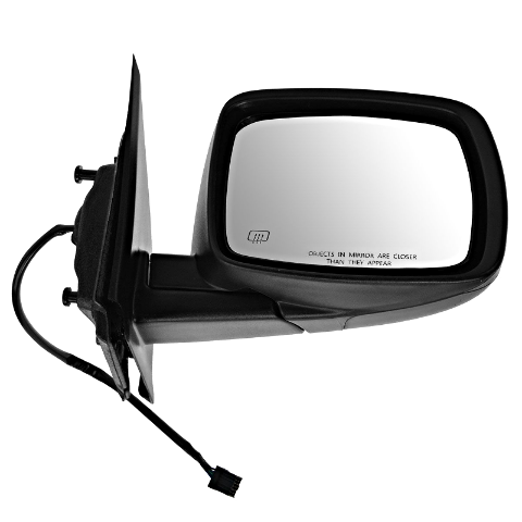 Fits 09-15  Journey Right Pass Power Mirror Textured w/Heat Manual Fold