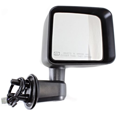 Fits 11-13 JP Wrangler Right Pass Power Mirror Assembly With Heat Manual Folding