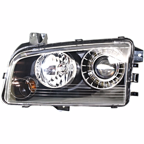Fits 08-10 Dodge Charger Right Passenger HID Headlamp Assembly With Out HID Kit