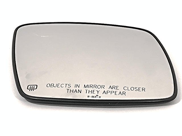 Right Pass Mirror Glass Heated w/Rear Holder for 09-18 Journey  w/Manual Folding