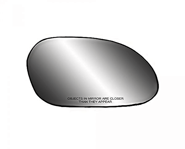Fits 00-07 Taurus, Sable Right Pass Convex Mirror Glass  w/Rear Back Plate