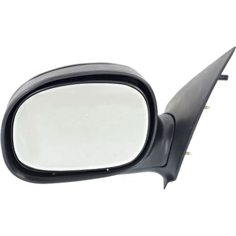For 97-02 - 2/11/02 F150 Pickup F250 Light Duty Left Driver Mirror Manual