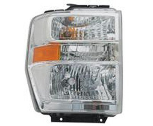 Fits 08-19  E Series Van Right Pass Composite Headlamp Aero Style