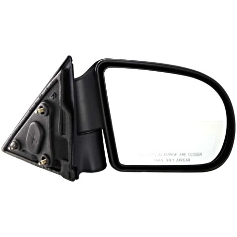 Fits 99-01 Bravada 99-04 Sonoma 99-00 Envoy Right Pass Mirror Power Text  W/Heat