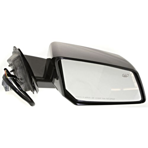 Fits 07-08  Outlook Right Pass Power Mirror W/ Heat and Manual Folding