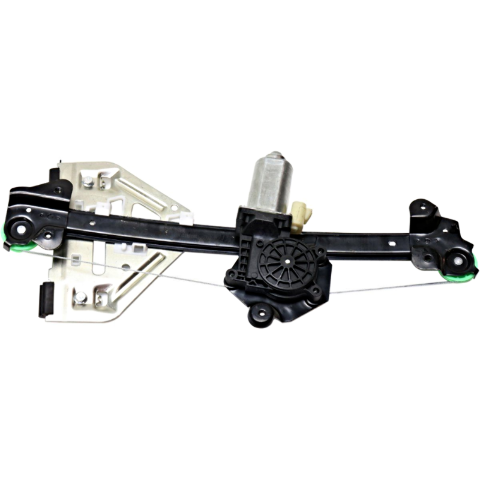 Fits 03-07 Cadillac CTS Rear Left Driver Power Window Regulator With Motor