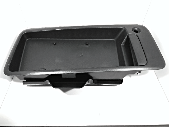 Right Rear Outer Door Handle w/ License Plate Bracket for 96-10 Express, Savana