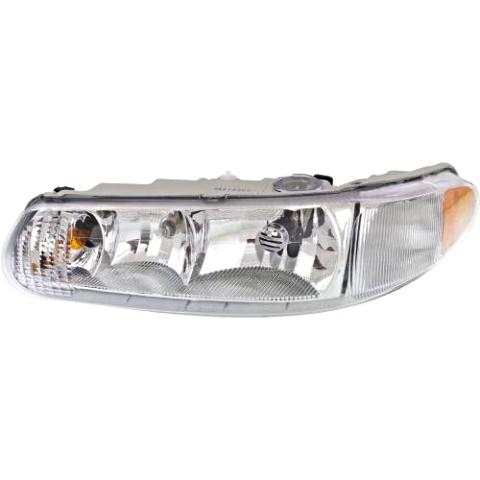 Fits 97-05 Buick Century 97-04 Regal Left Driver Headlamp Assem No Corner Lamp