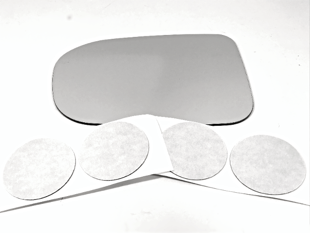 Fits 15-18 Sienna Right Passenger Mirror Glass Lens as Pictured