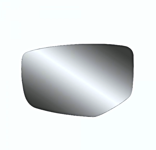 Fits 13-17 Accord Left Driver Mirror Glass w/Rear Holder for Models w/out Heat