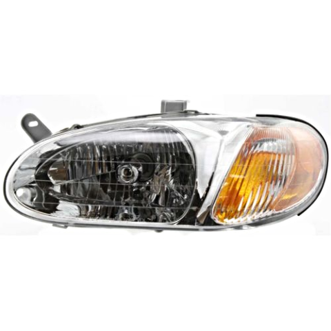 Fits 98-01 Kia Sephia Left Driver Halogen Headlamp Assembly
