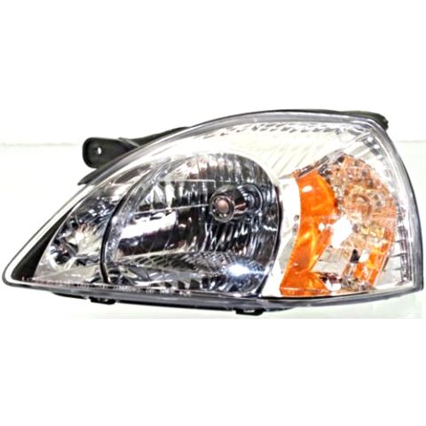 Fits 03-05 Kia Rio / Rio Cinco Left Driver Headlamp Assembly