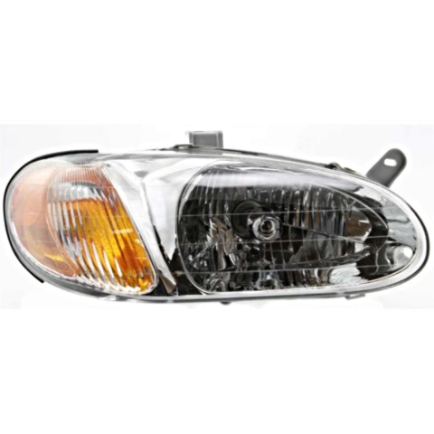 Fits 98-01 Kia Sephia Right Passenger Halogen Headlamp Assembly