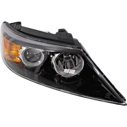 Fits 11-13 Kia Sorento Right Passenger Halogen Headlamp Assembly