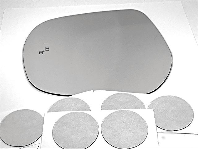 Fits 14-18 Lexus GX460 16-18 LX570 Left Driver Mirror Glass Lens w/Blindspot Detection Icon