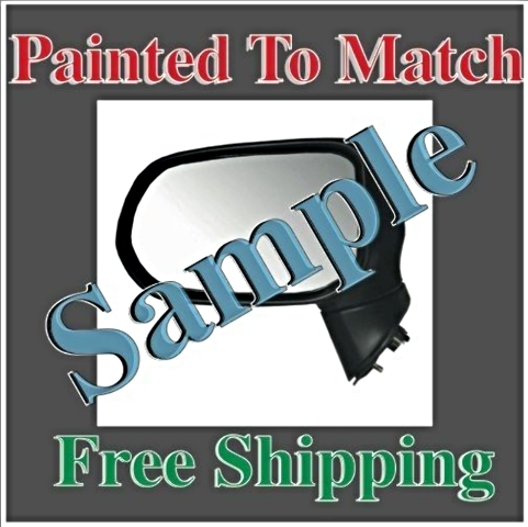 Paint To Match Power Mirror Fits 07-12  Sentra Right Passengr Without Heat
