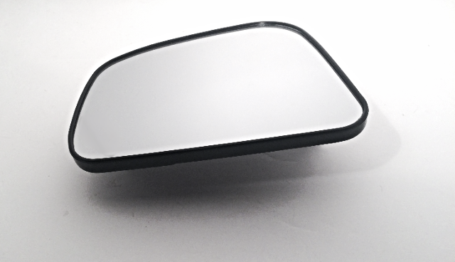 Fits 07-12  Versa Left Driver Mirror Glass w/ Rear Holder Direct Snap Fit