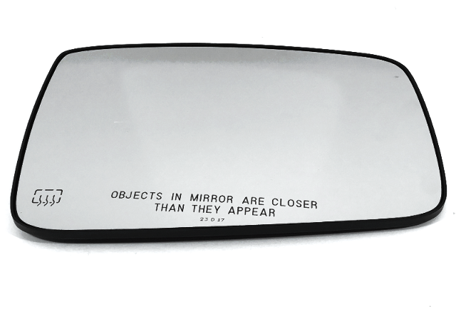 Right Pass Heated Mirror Glass w/Rear Holder for 09-17 Ram 1500, 10-17 2500, 3500 OE