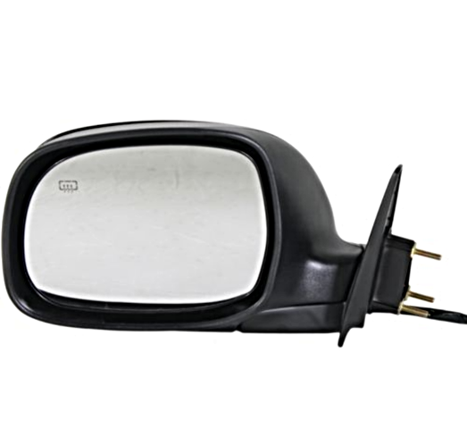Fits 03-06 Tundra Double Cab, 01-07 Sequoia Left Driver Mirror Pwr Chrome w/Heat