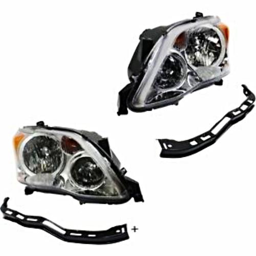 Left & Right Halogen Headlight Assmblies Set for 08-10 Toyota Avalon