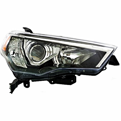 Right Passenger Side Halogen Headlight Assembly for 14-17 Toy 4Runner