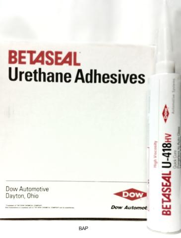 Dow Auto Glass High Viscosity Urethane Adhesive - Primerless (10 tubes) U-418HV