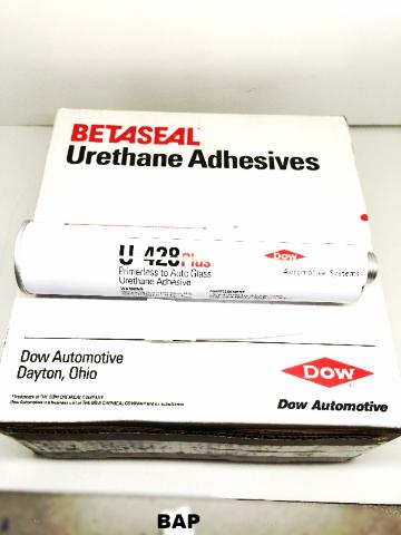 10 Dow U428 Plus Primerless Auto Glass Urethane Adhesive & 1 Can 5504G Primer