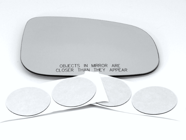 Fits 15-18 Volvo S60, V60 Right Mirror Glass Lens Fits Over for Auto Dimming Type