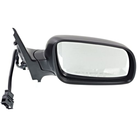 Fits 99-05 Jetta 99-07 Golf Right Pass Power Mirror Heated Clear Glass No Memory