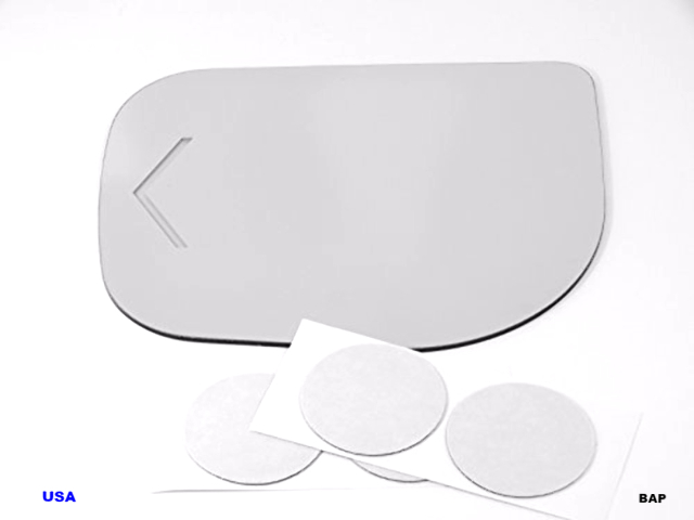 Fits 09-15 Nis Titan,  Armada 09-10 Inf QX56 Left Driver Mirror Glass Direct Fits-Over Option for heated Auto-Dimming Signal Mirrors See details