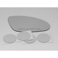 Fits 07-09 Mercedes-Benz S Class Right Pass Convex Mirror Glass Lens W/ Silicone  direct Fits over glass