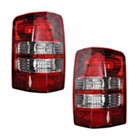Fits 08-12 Jeep Liberty Left & Right Set Tail Lamp Light Assemblies