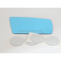 Fits 1996-1999 Mercedes S Class, SL Class Right Passenger Convex Mirror Glass Lens w/Silicone