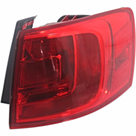 FITS 13-14 VW JETTA HYBRID RIGHT PASS TAIL LAMP QUARTER MOUNTED W/O LED LIGHT
