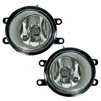 Fits 10-11 Prius, 06  XA, 08-11  LX570 Left & Right Fog Lamps -pair