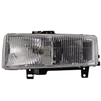 Fits 96-02 Chevy Express & GMC Savana Left Driver Composite Headlamp Assembly