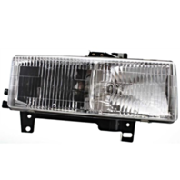 Fits 96-02 Chevy Express & GMC Savana Right Passenger Composite Headlamp Assem