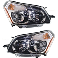 Fits 09-10  Vibe Left & Right Headlamp Assemblies - pair
