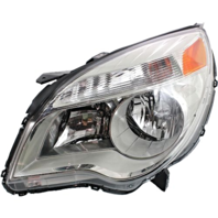 Fits 10-15  Equinox Left Driver Halogen Headlamp Assem W/Projector Beam
