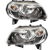 Fits 07-10  HHR Left & Right Headlamp Assemblies w/tinted lens (pair)