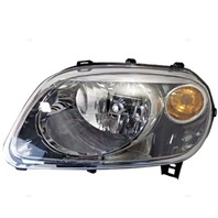 Fits 07-10 Chevy HHR Left Driver Headlamp Assembly w/tinted lens