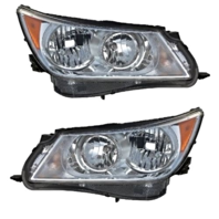 Fits 10-13  LaCrosse Left & Right Halogen Headlamp Assemblies - Set
