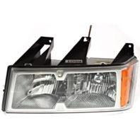 Fits 06-08 Isuzu Pickup Left Driver Headlamp Assemblies w/Chrome Bezel