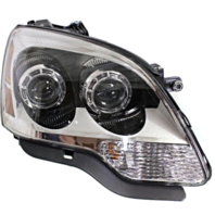Fits 08-12 GM Aa Right Passenger Halogen Headlamp Assembly With Clear Lens