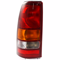 Fits 99-02 Chev Silverado Fleetside Pickup/99-03 GM Sierra Fleetside Pickup Left Driver Tail Lamp Unit Assm Excludes 3500
