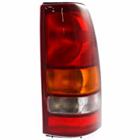 Fits 99-02  Silverado Fleetside Pickup/99-03 GM Sierra Fleetside Pickup Right Passenger Tail Lamp Unit Assembly Exc 3500