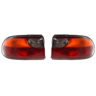 Fits 04-05  Malibu Classic Left & Right Set Tail Lamp Assemblies Quarter Mounted w/Circuit Board