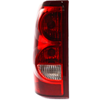 Fits 03  Silverado 1500 2500 Fleetside Left Driver Tail Lamp Assembly