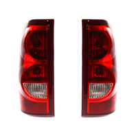 Fits 03  Silverado 1500 2500 Fleetside Left & Right Set Tail Lamp Assemblies